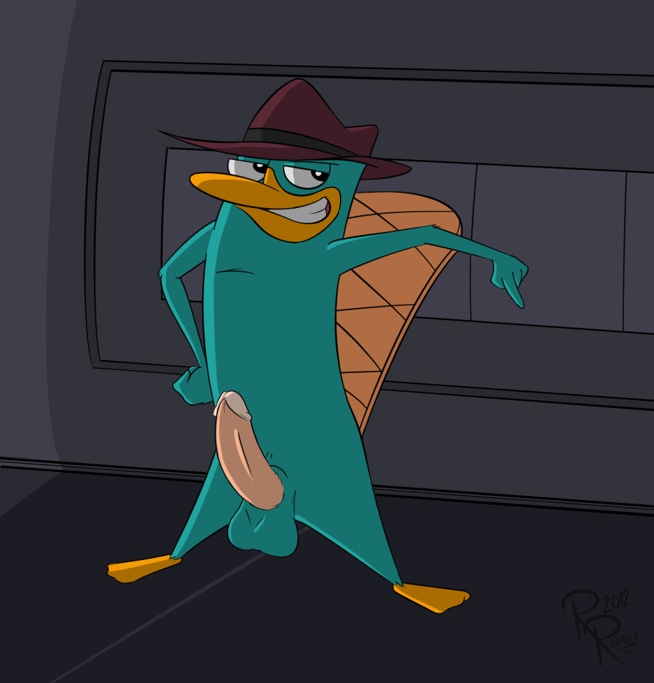 the phineas ferb and platypus nude perry Bbc cum in my ass