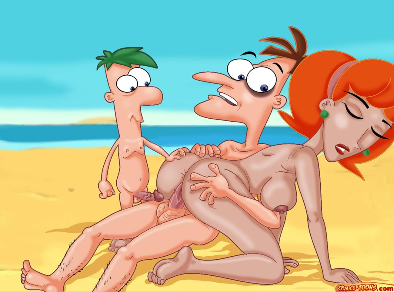 phineas ferb comic y porno A night in the woods gregg