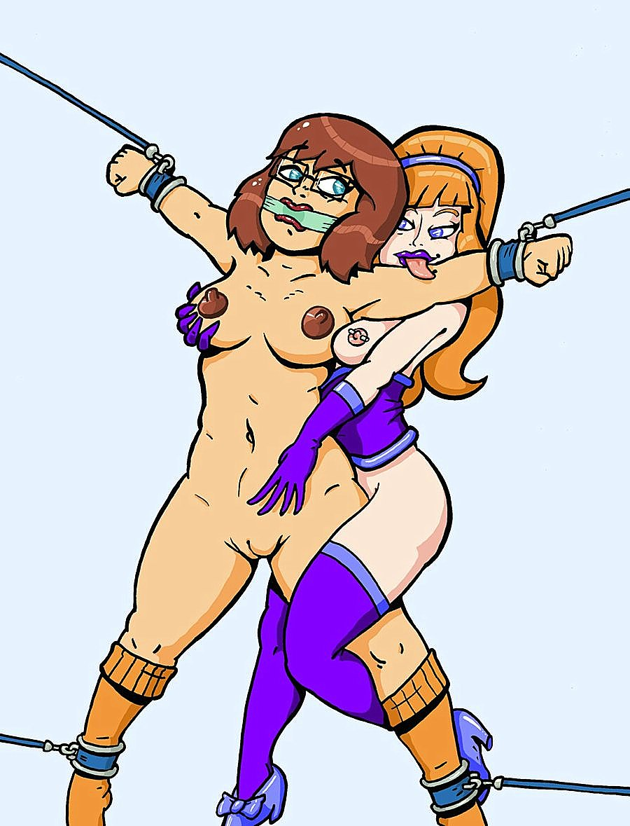 and gagged blake bound daphne The diamonds from steven universe