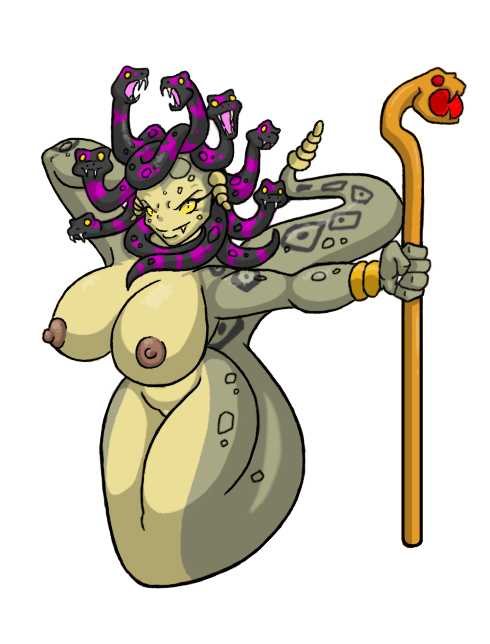 have pubes medusa does snakes for Dungeon travelers 2 censored images