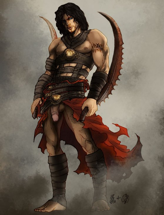 persia prince of The furies god of war