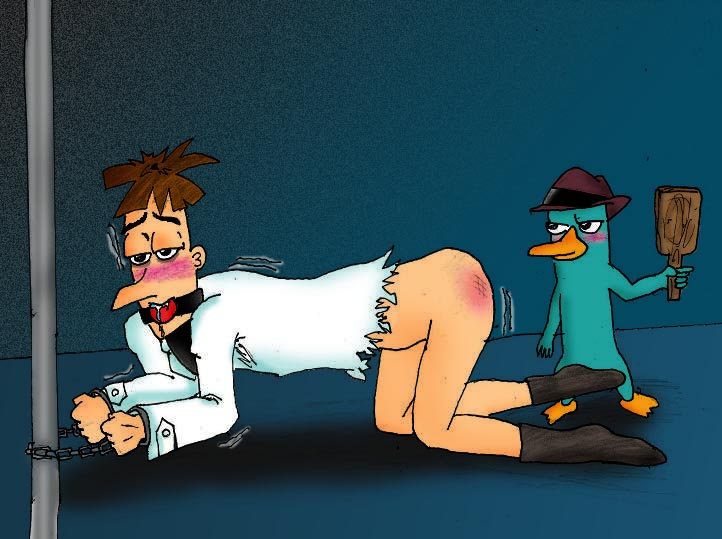 platypus perry the and phineas ferb nude Trials in tainted space embry