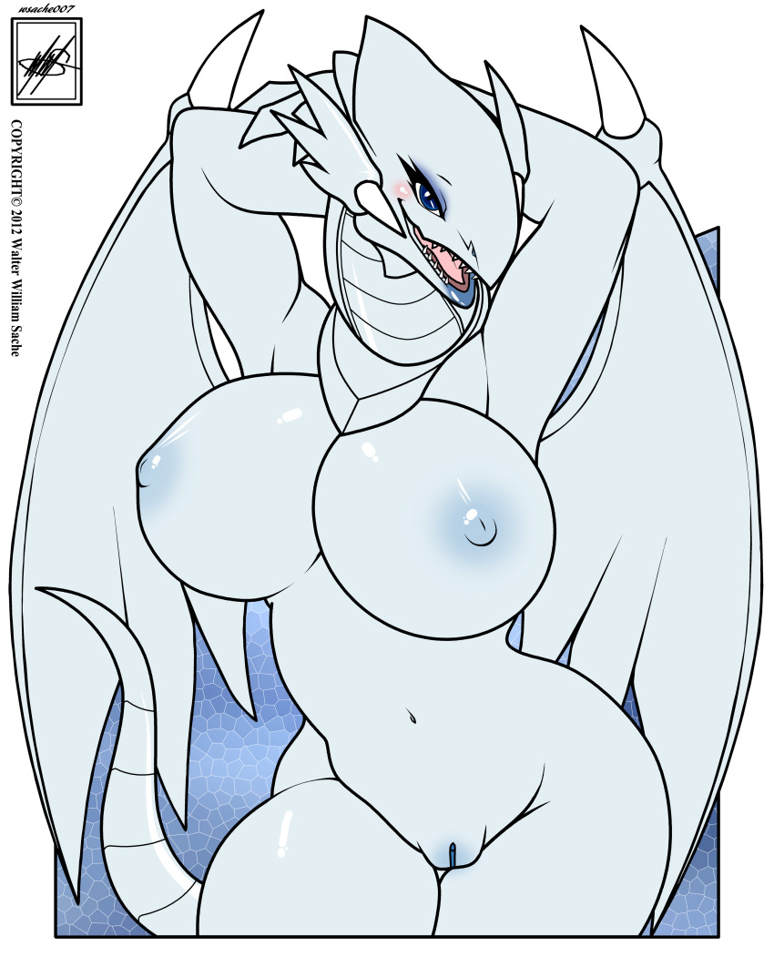eyes white dragon blue King of the hill gay