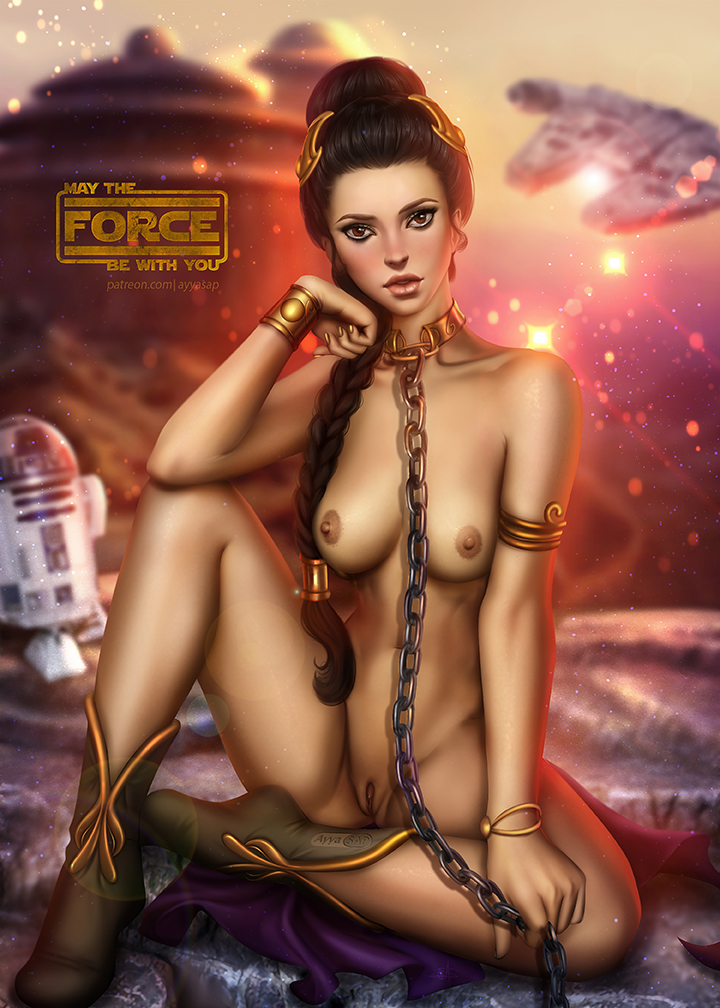 star nude wars women of Wolf's rain blue and hige